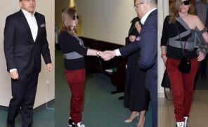 Marcinkiewicz i Isabel z odsłoniętym ramieniem w sądzie! (ZDJĘCIA)