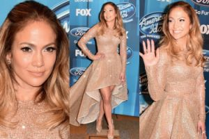 """Jennifer Lopez błyszczy w finale amerykańskiego """"Idola""""! (ZDJĘCIA)"""