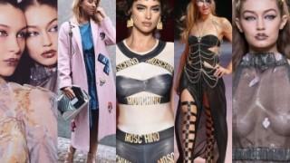 Tydzień Mody w Mediolanie: Shayk, Hilton, piersi Gigi Hadid i Jessica Mercedes... (ZDJĘCIA)