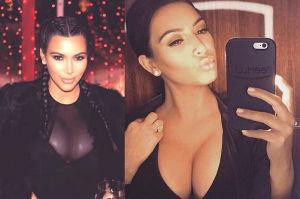 """Kim Kardashian: """"Nienawidzę moich wielkich piersi!"""""""
