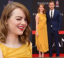 Emma Stone i Ryan Gosling promują swój film w Hollywood
