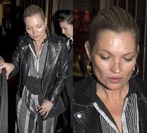 Kate Moss wychodzi z imprezy