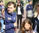 TYLKO U NAS: Marcin Dubieniecki na spacerze z nową, patchworkową rodziną (ZDJĘCIA)