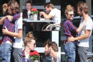Boczarska i Banasiuk całują się i przytulają w restauracji (ZDJĘCIA)
