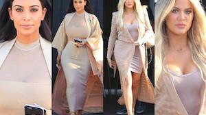Kim czy Khloe Kardashian? (ZDJĘCIA)