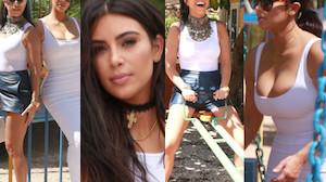 Drugi dzień Kardashianek w Hawanie (ZDJĘCIA)