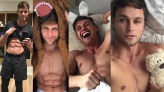 CIACHO TYGODNIA: 25-letni model, który PRZESZEDŁ NAGO PO WYBIEGU, chwali się ciałem na Instagramie (ZDJĘCIA)
