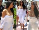 Kim Kardashian wciśnięta w gorset za 9 tysięcy złotych… (ZDJĘCIA)
