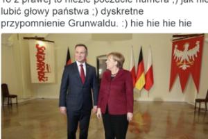 Andrzej Duda strollował Angelę Merkel? (FOTO)