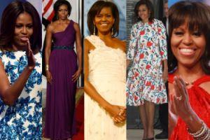 """Michelle Obama - amerykańska """"ikona stylu""""? (ZDJĘCIA)"""