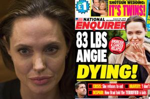 """Ogłoszono śmierć Angeliny Jolie! """"Będziemy za nią tęsknić, ale jej nie zapomnimy!"""""""