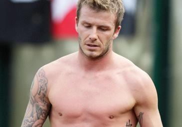 Beckham ma tatuaż z błędem!