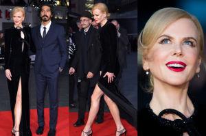 Długie nogi Nicole Kidman na czerwonym dywanie (ZDJĘCIA)