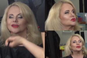 """Opuchnięte usta Kurowskiej przygotowują się do spektaklu… Nadal """"poprawia"""" twarz?"""
