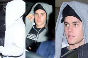 Zamyślony Bieber na lotnisku w Krakowie (WIDEO)