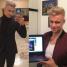 Rafał Jonkisz został platynowym blondynem... (FOTO)