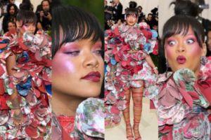 """Rihanna w """"sukni z salami"""" po raz kolejny została okrzyknięta """"królową gali MET""""! (ZDJĘCIA)"""