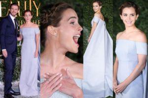 """Emma Watson i Dan Stevens promują nową """"Piękną i Bestię""""! (ZDJĘCIA)"""