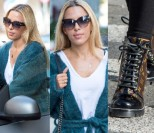 Obładowana Chodakowska w butach za 5 tysięcy wychodzi z butiku Jemioła (ZDJĘCIA)
