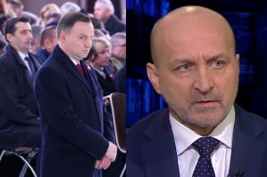 """Marcinkiewicz: """"Pan prezydent jest pod butem Jarosława Kaczyńskiego"""""""