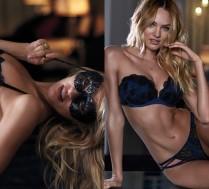 Candice Swanepoel reklamuje nową kolekcję Victoria's Secret