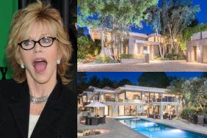 Jane Fonda nie może sprzedać domu! Obniżyła cenę już o 1,5 MILIONA dolarów (ZDJĘCIA)