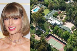 Taylor Swift remontuje willę wartą 25 milionów dolarów! (ZDJĘCIA)