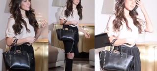 Rosati z torebką Valentino za 7 tysięcy złotych