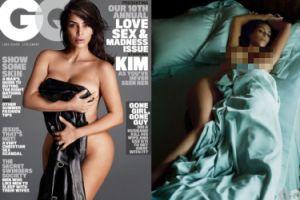 """Kim Kardashian ROZEBRAŁA SIĘ dla """"GQ""""! (ZDJĘCIA)"""