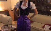 Edyta Pazura jak na Oktoberfest