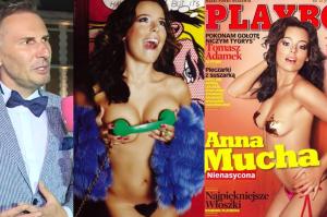 """Gojdź zachwyca się Muchą: """"Jej sesja w """"Playboyu"""" była najbardziej zachwycająca. Umie pokazywać biust!"""""""