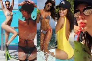 Modelki chwalą się wakacjami na Instagramie... (DUŻO ZDJĘĆ)