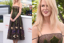 Naturalna Nicole Kidman w sukni Diora