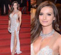 Błyszcząca Natalia Janoszek na czerwonym dywanie w Cannes