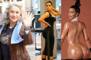 """Helen Mirren chwali Kim Kardashian: """"Dzięki niej można mieć dziś dużą pupę! To wspaniałe"""""""
