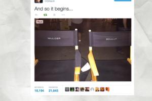 """Gillian Anderson na planie NOWEGO """"Z ARCHIWUM X""""! (FOTO)"""