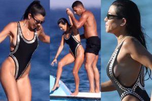 Kourtney Kardashian ze starym-nowym chłopakiem bawi się w Saint-Tropez (ZDJĘCIA)