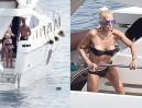 Donatella Versace w bikini straszy mewy (ZDJĘCIA)