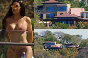 Kim wynajęła willę na Kostaryce za... 23 tysiące dolarów ZA NOC! (ZDJĘCIA)