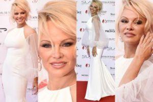 Prawie 50-letnia Pamela Anderson na czerwonym dywanie w Monte Carlo (ZDJĘCIA)