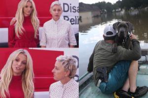 Britney Spears przekazała 125 tysięcy dolarów ofiarom powodzi w Luizjanie!