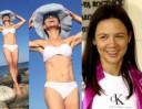 Kinga Rusin pozuje w bikini: