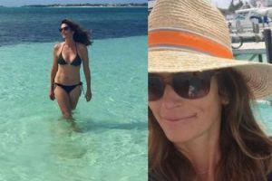 Cindy Crawford z mężem na wakacjach (FOTO)