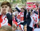 Beata Szydło kibicuje z... Gortatem! (ZDJĘCIA)