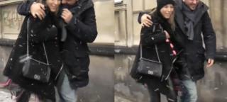 Mąż ratuje Chodakowską przed upadkiem (WIDEO)