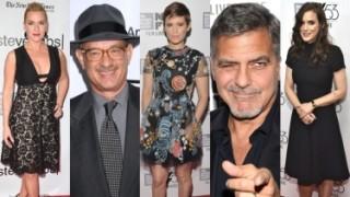 Kate Winslet, Tom Hanks i George Clooney na festiwalu filmowym w Nowym Jorku! (ZDJĘCIA)