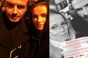 Jessica i Maffashion chwalą się selfie z Beckhamem