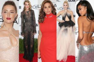 """Amber Heard, Caitlyn Jenner i Gwen Stefani na imprezie """"Glamour"""" (ZDJĘCIA)"""