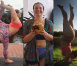 Waży ponad 100 kg i jest... instruktorką jogi (ZDJĘCIA)
