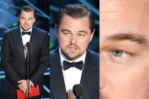 DiCapro przed Oscarami wezwał stylistkę z innego kontynentu, żeby... UCZESAŁA MU BRWI!
